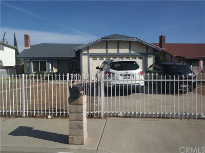 Moreno Valley Single Family Home For Sale: 14158 Stonehurst Drive