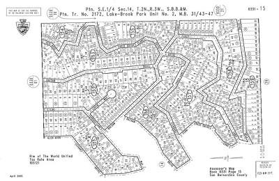 San Bernardino County Residential Lots & Land For Sale: 29420 Piney Lane
