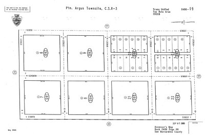 San Bernardino County Residential Lots & Land For Sale: 6th Street