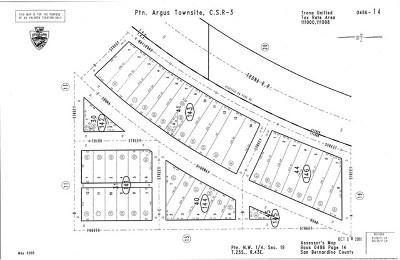 San Bernardino County Residential Lots & Land For Sale: C Street