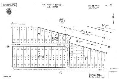 San Bernardino County Residential Lots & Land For Sale: Alcudia Road