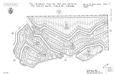 Lake Arrowhead CA Residential Lots & Land For Sale: $12,000