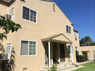 Burbank Multi Family Home For Sale: 1807 W Victory Boulevard