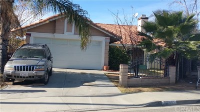 Moreno Valley Single Family Home For Sale: 14605 Unity Court