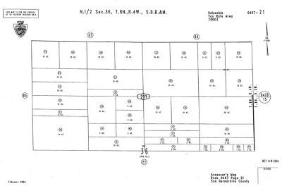 Helendale Residential Lots & Land For Sale: Sorrel Trail