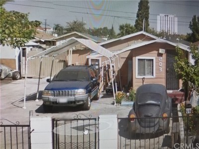 Compton Single Family Home For Sale: 203 W Reeve Street