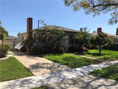 Long Beach Single Family Home For Sale: 1018 E Ridgewood Street