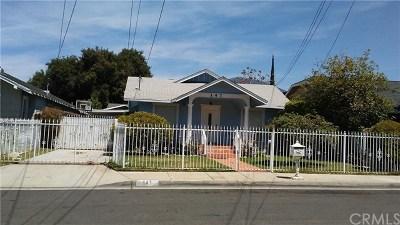 Monrovia Single Family Home For Sale: 147 E Cherry Avenue