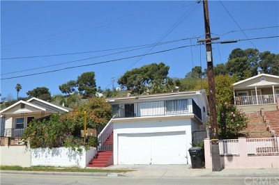 Los Angeles Single Family Home For Sale: 4423 Blanchard Street