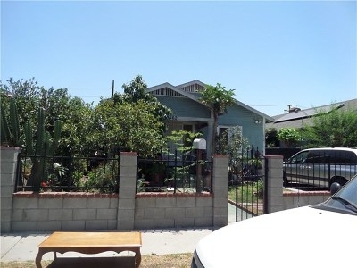 Los Angeles Single Family Home For Sale: 162 E 66th Street