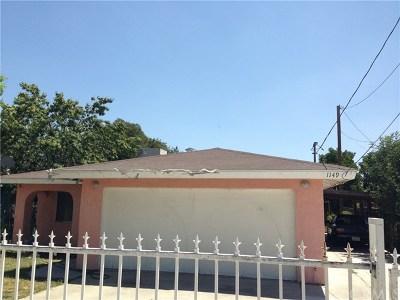 San Bernardino CA Single Family Home For Sale: $229,000