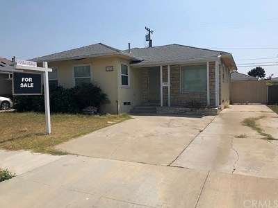 Lawndale Single Family Home For Sale: 15136 Doty Avenue