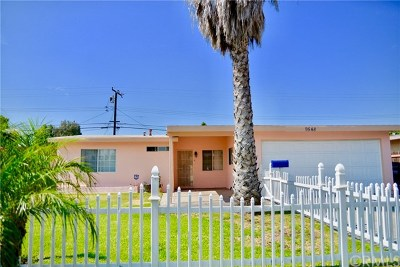 Pico Rivera Single Family Home For Sale: 9548 Aero Drive