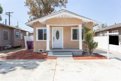 Long Beach Single Family Home For Sale: 2532 E 14th Street