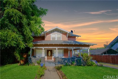 Pasadena Single Family Home For Sale: 790 N El Molino Avenue