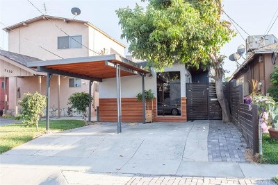 Long Beach Single Family Home For Sale: 2116 W Cameron Street