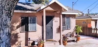 San Gabriel Single Family Home For Sale: 434 S California Street