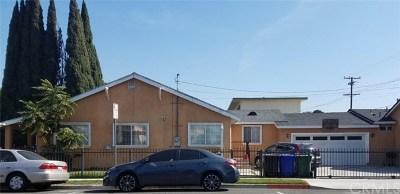 Huntington Park Multi Family Home For Sale: 6310 Passaic Street
