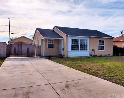 Pico Rivera Single Family Home For Sale: 9644 Washington Boulevard