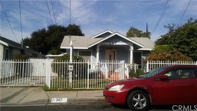 Monrovia Single Family Home For Sale: 147 E Cherry Avenue