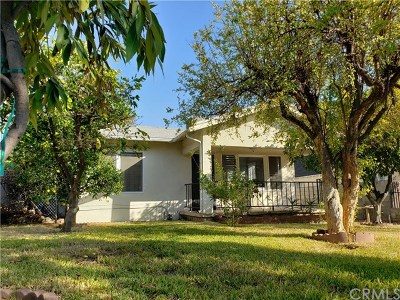 Pasadena Single Family Home For Sale: 1300 N Dominion Avenue