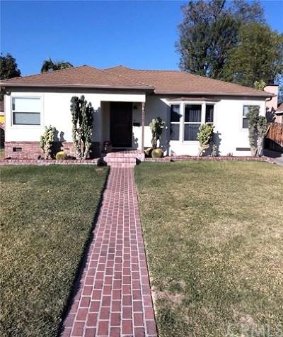 Monrovia Single Family Home For Sale: 215 W Altern Street