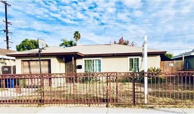 Pico Rivera Single Family Home For Sale: 8308 Eglise Avenue