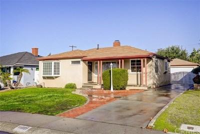 Whittier Single Family Home For Sale: 11325 Howard Street