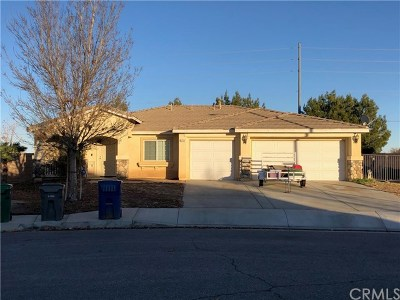 Lancaster CA Single Family Home For Sale: $280,000