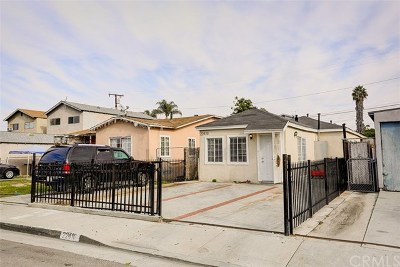 Hawaiian Gardens Single Family Home For Sale: 22410 Joliet Avenue