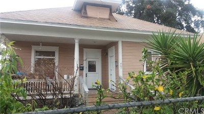 Pomona Multi Family Home For Sale: 565 N Gordon Street