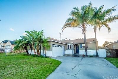 Pico Rivera Single Family Home For Sale: 9326 Colfair Street