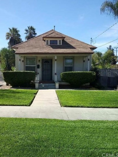 Riverside, Temecula Single Family Home For Sale: 2776 5th Street