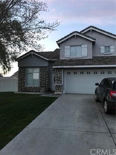 Rosamond Single Family Home For Sale: 3449 Summer Breeze