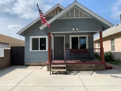 Pomona Single Family Home For Sale: 573 W Center Street W