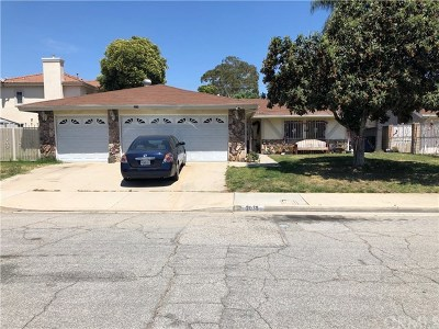 Pomona Single Family Home For Sale: 2038 Brentwood Street