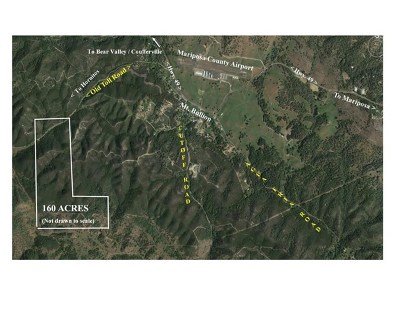 Bear Valley Residential Lots & Land For Sale: Hornitos Mt. Bullion Toll Road