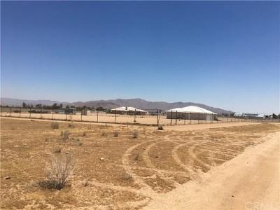 San Bernardino County Residential Lots & Land For Sale: Via Seco Road