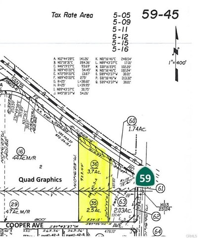 Merced Residential Lots & Land For Sale: 2155 Cooper Avenue