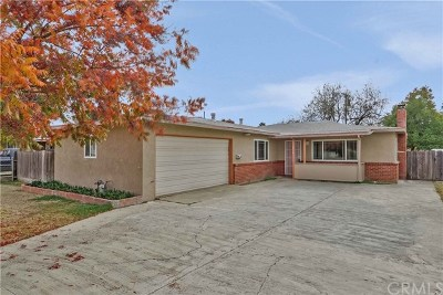 Merced CA Single Family Home For Sale: $220,000
