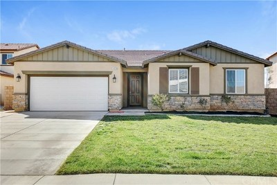 Winchester Single Family Home For Sale: 34929 Sage Canyon Court
