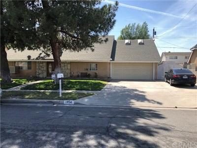 Rialto Single Family Home For Sale: 1354 Pampas Avenue