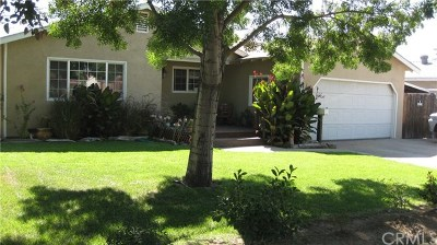 Atwater Single Family Home For Sale: 1660 Shaffer Road