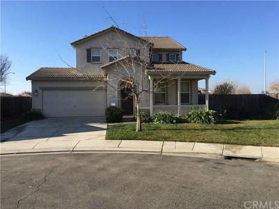 Merced Single Family Home For Sale: 1392 Baxter Court