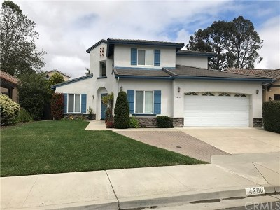 San Luis Obispo Single Family Home For Sale: 4200 La Posada