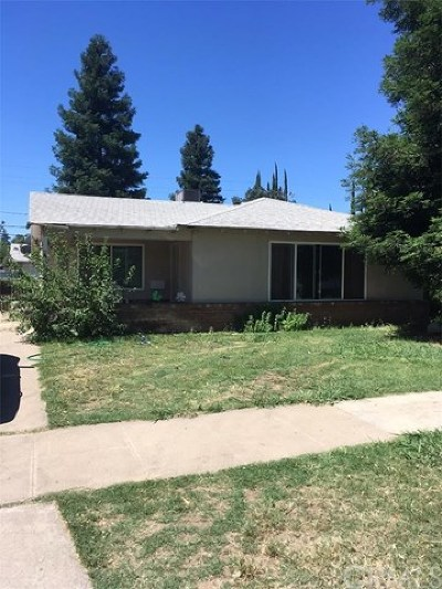 Merced Single Family Home For Sale: 1536 W 21st Street
