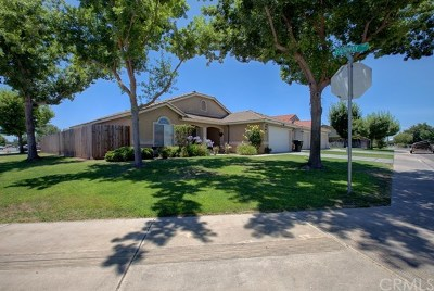 Atwater Single Family Home For Sale: 804 Gateway Drive