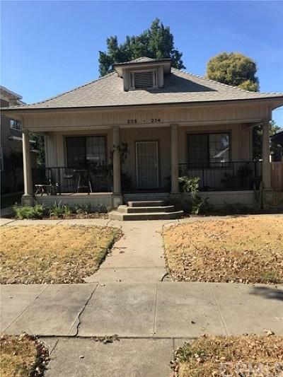 Merced Multi Family Home For Sale: 228 W 21st Street