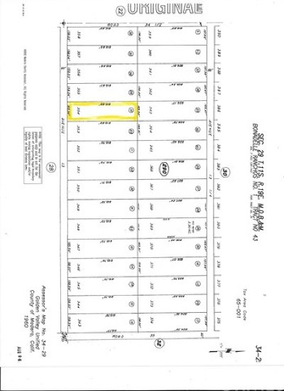 Madera Residential Lots & Land For Sale: 34750 Avenue 13