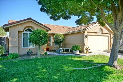 Madera Single Family Home For Sale: 1019 Goosecross Drive